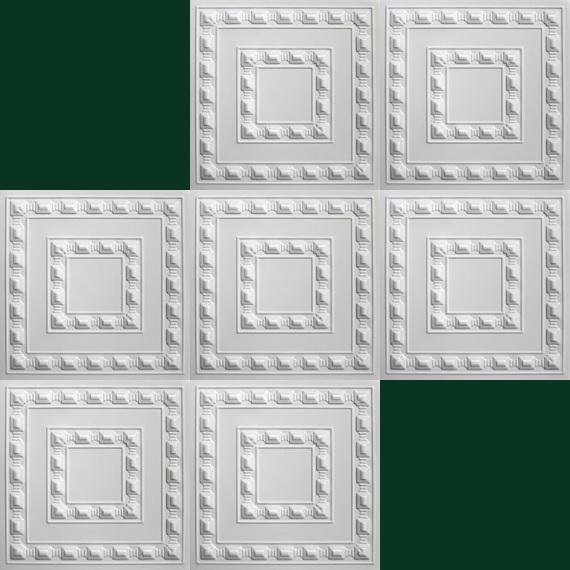 30 m2 deckenplatten styroporplatten stuck decke dekor platten 50x50cm ebay. Black Bedroom Furniture Sets. Home Design Ideas