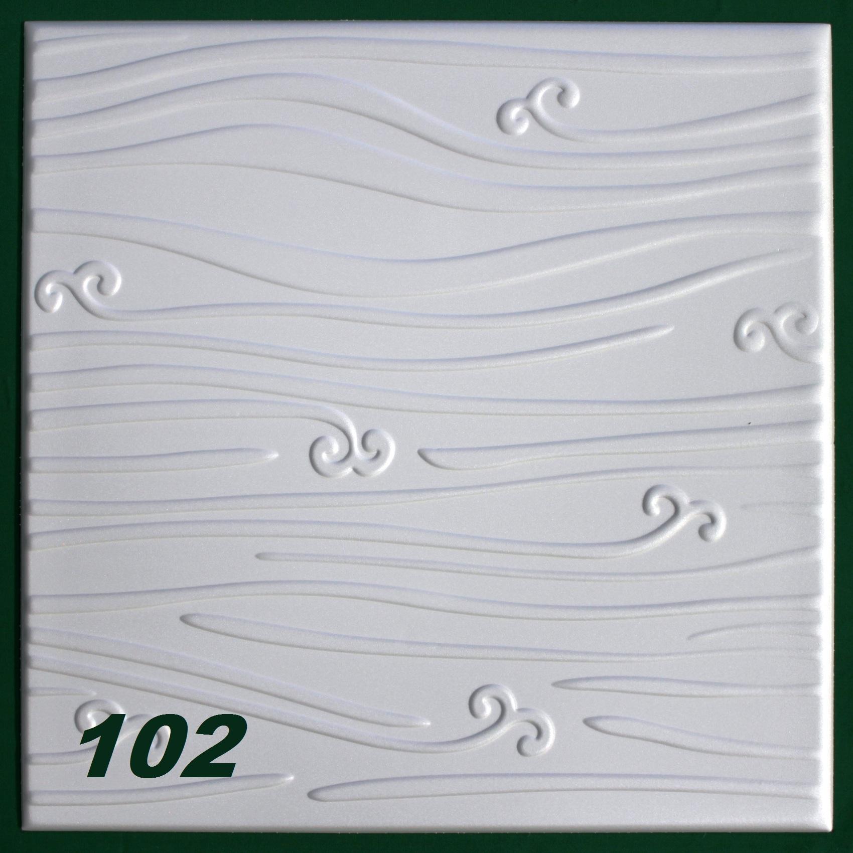 30 m2 plaques en polystyr ne pour habillage de plafond for Plaque polystyrene pour plafond