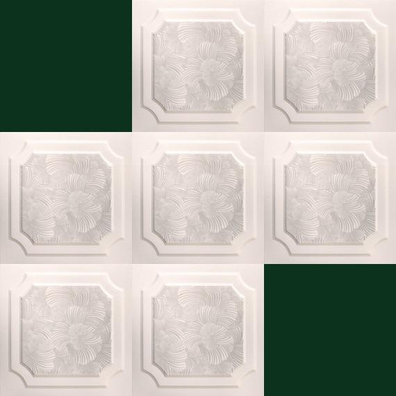 40 m2 m2 plaques en polystyr ne pour habillage de plafond for Plaque plafond polystyrene