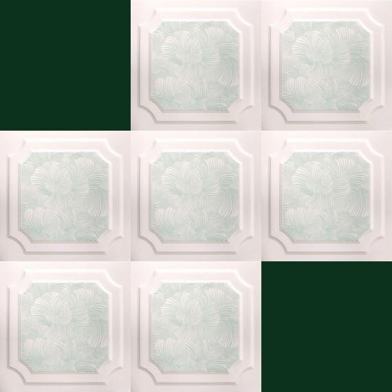 M2 Piastre Pannello Soffitto Polistirolo Decorazione Per 50x50cm I Pictures t...