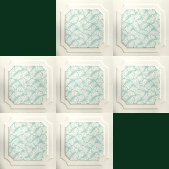 1 m2 deckenplatten styroporplatten stuck farbige platten 50x50cm rn ebay. Black Bedroom Furniture Sets. Home Design Ideas