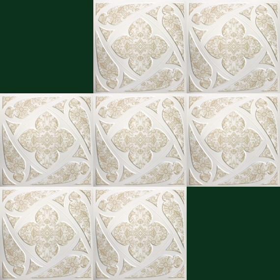 Decorazioni Soffitto Polistirolo: Pannelli decorativi per soffitto in polistirolo colla.
