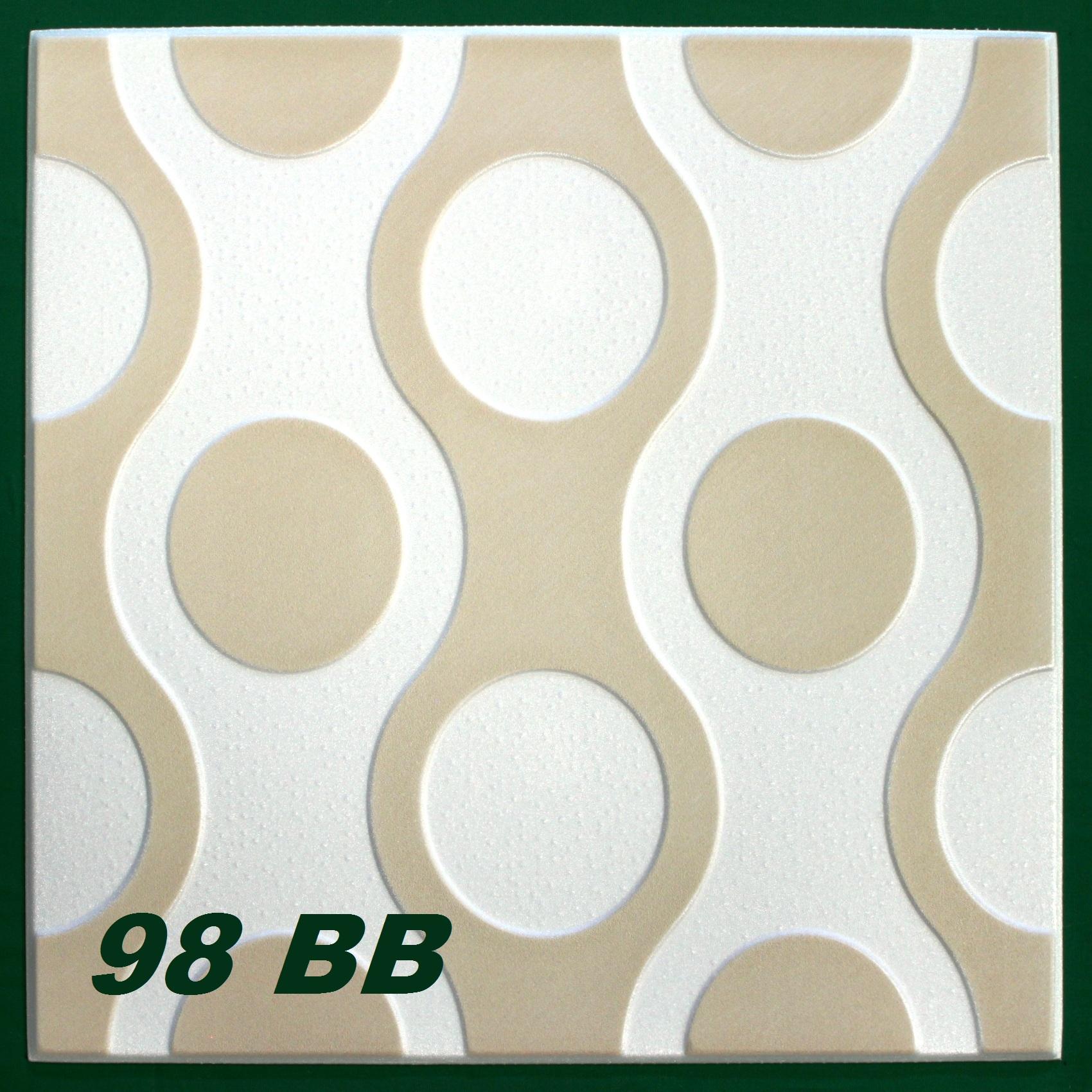 1 m2 panneaux pour plafond plaques en polystyr ne plinthes for Peindre plaque polystyrene plafond