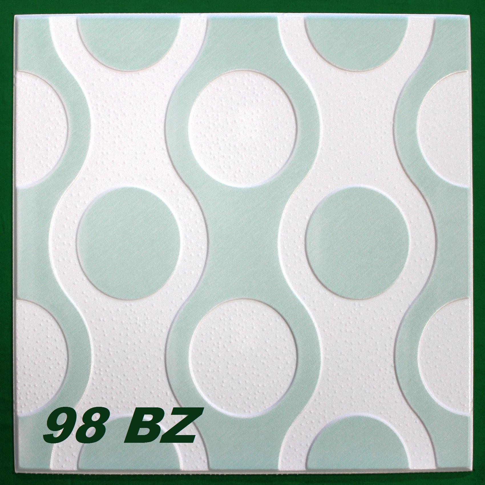 1 m2 deckenplatten styroporplatten stuck farbige platten 50x50cm l hne. Black Bedroom Furniture Sets. Home Design Ideas