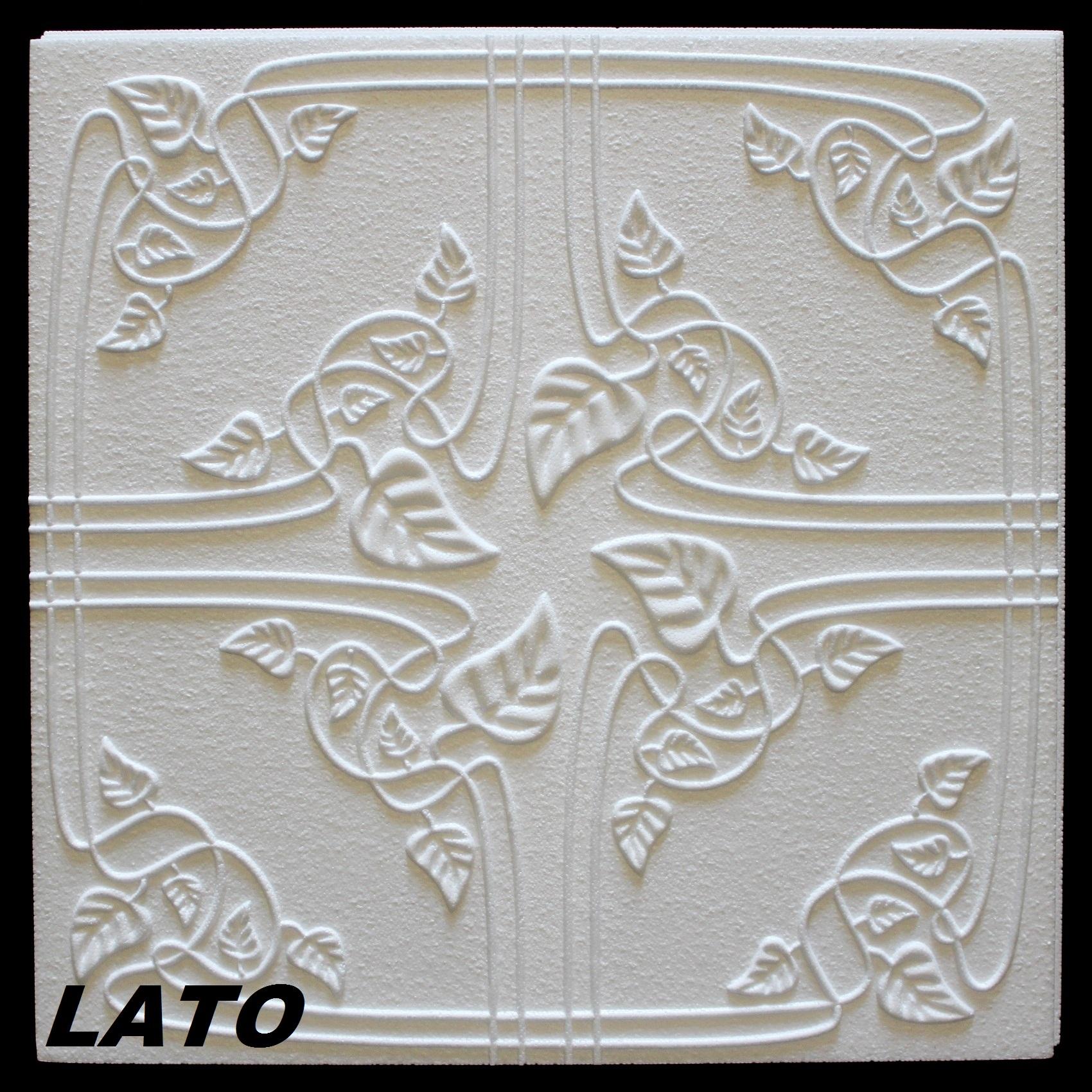 10 m2 plaques de recouvrement polystyr ne d coration d for Plaque polystyrene plafond