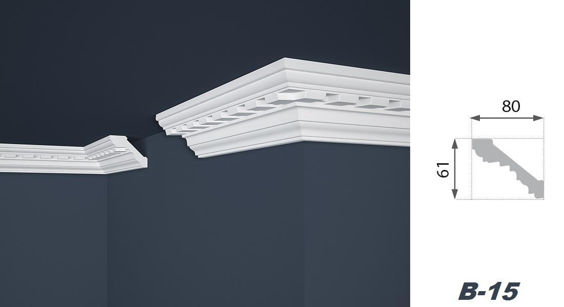 30 m tres profils de plafond baguettes d coratives for Baguettes bois decoratives