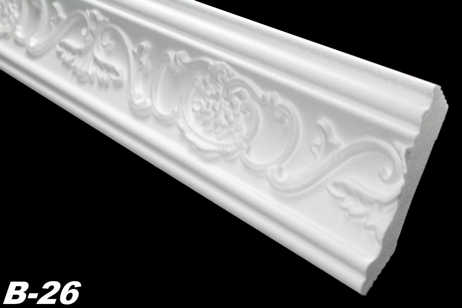 40 m tres corniches moulures d coratives plinthes stuc d coration polystyr ne ebay. Black Bedroom Furniture Sets. Home Design Ideas