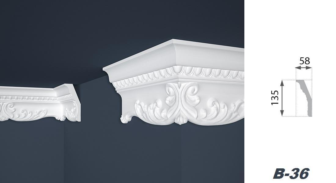 30 m tres profils de pl tre polystyr ne baguettes for Baguettes bois decoratives