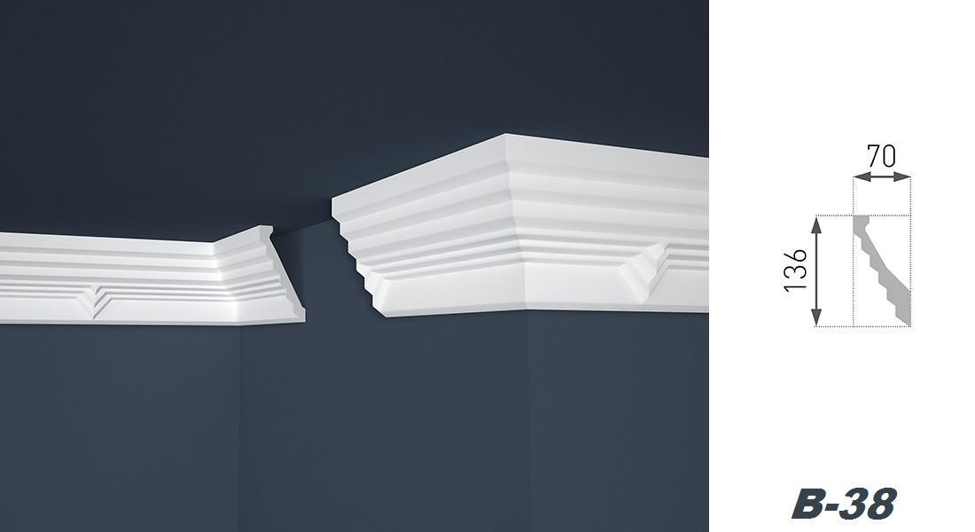 Moulure plafond les bons plans de micromonde for Corniche plafond polystyrene