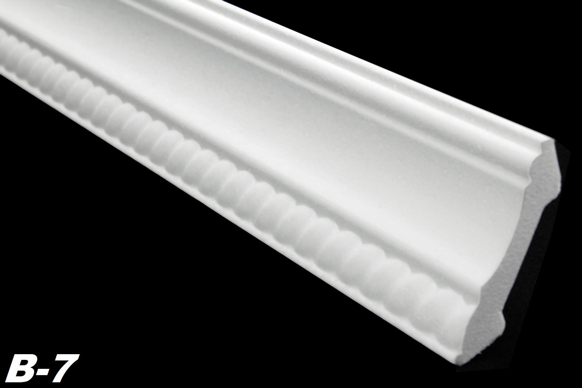 100 meter dekorleisten eckprofile styropor innen stuckleiste 53x53mm b 7. Black Bedroom Furniture Sets. Home Design Ideas