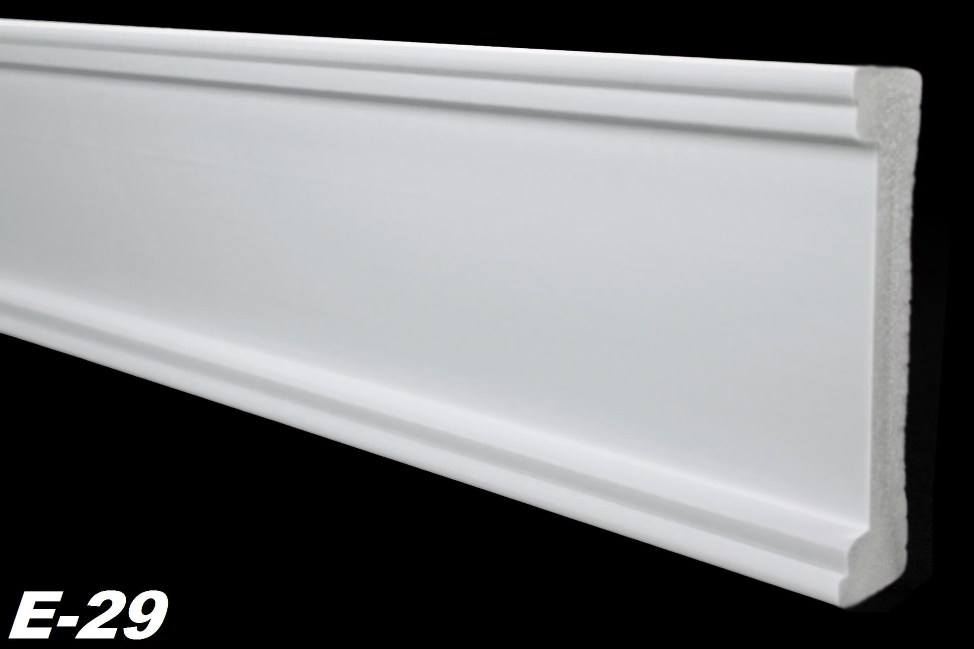 10 meter flachprofile wandleisten leisten wand stuck dekor. Black Bedroom Furniture Sets. Home Design Ideas