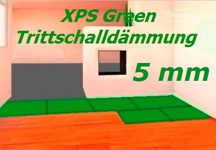 100 m2 trittschalld mmung d mmung boden f r laminat parkett 5mm xps green ebay. Black Bedroom Furniture Sets. Home Design Ideas