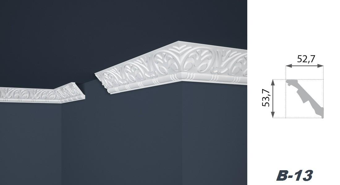 2 meter profil leiste stuck styropor innen dekoration. Black Bedroom Furniture Sets. Home Design Ideas