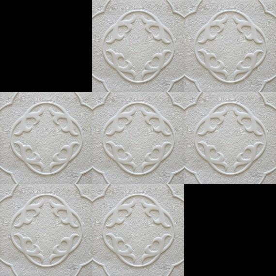 1 m2 deckenplatten styroporplatten stuck decke dekor platten 50x50cm lilia dekore aus. Black Bedroom Furniture Sets. Home Design Ideas
