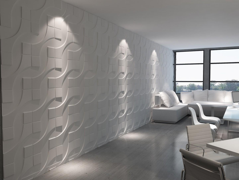 25 m2, Paneele 3D Platten Wandpaneele 3D Wandplatten Wand ...