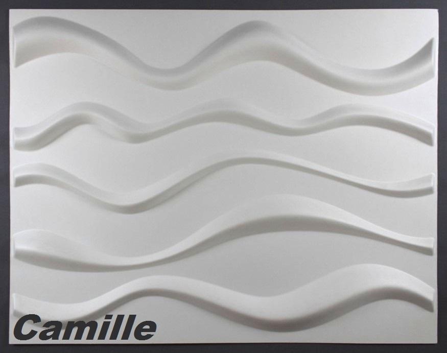 su 10 M2, Pannelli 3D Parete Pannelli Decorativi 62x80Cm CAMILLE