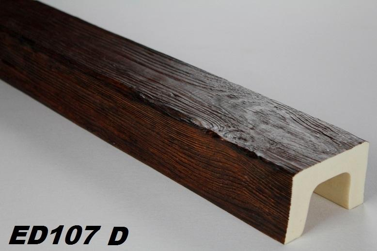 Soffitto Con Travi In Legno In Inglese : Metri trave soffitto fascio finto legno mm ed d serie