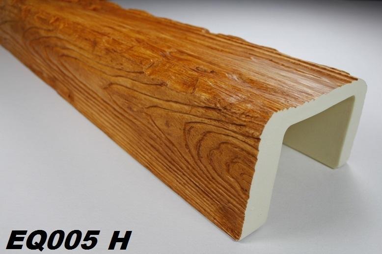 Mètre Bâton Intérieur Imitation bois 190x130mm, EQ005 H Série  ~ Poutre Imitation Bois