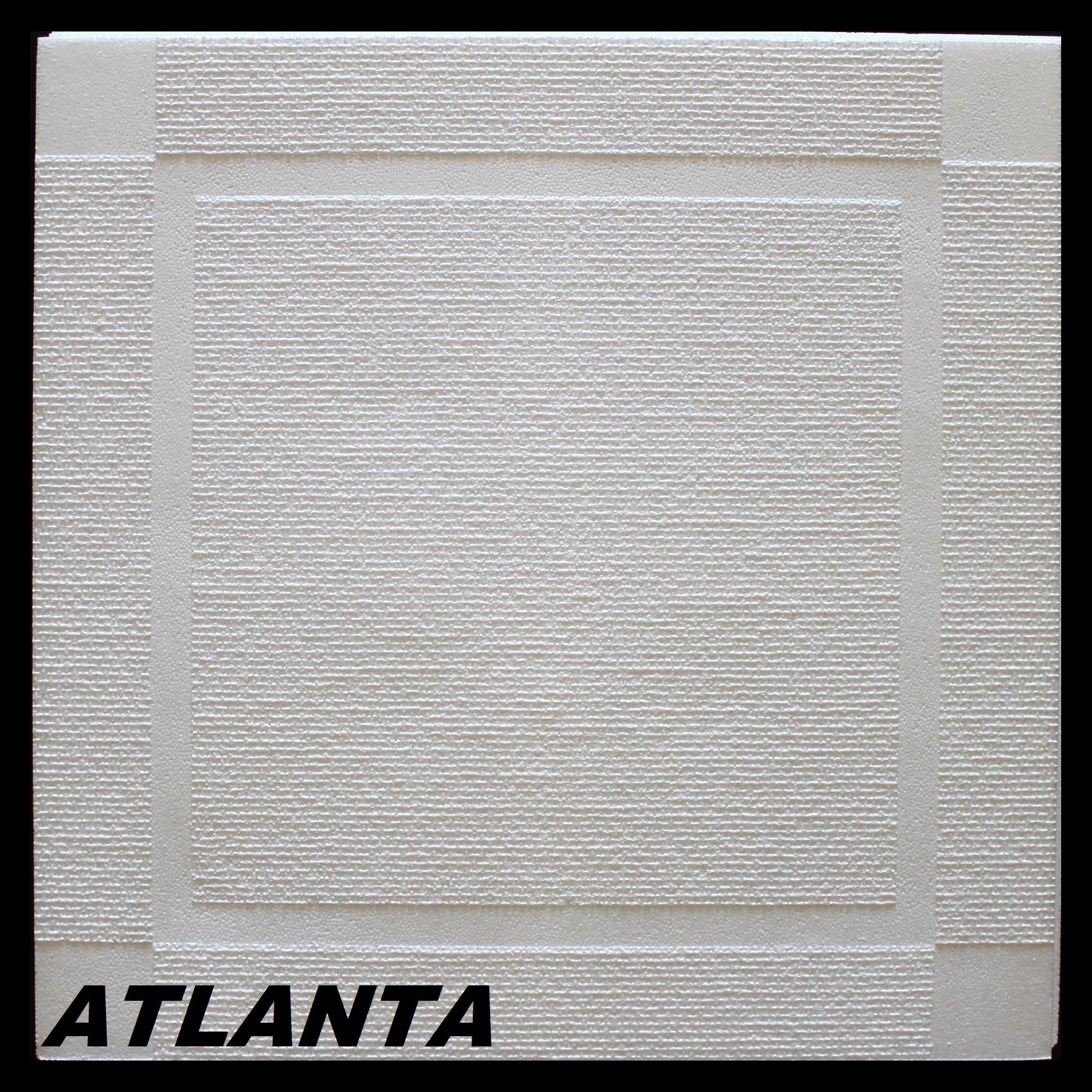 1 m2 plaques en polystyr ne pour habillage de plafond stuc d cor 50x50cm atlanta ebay - Plaque polystyrene pour plafond ...