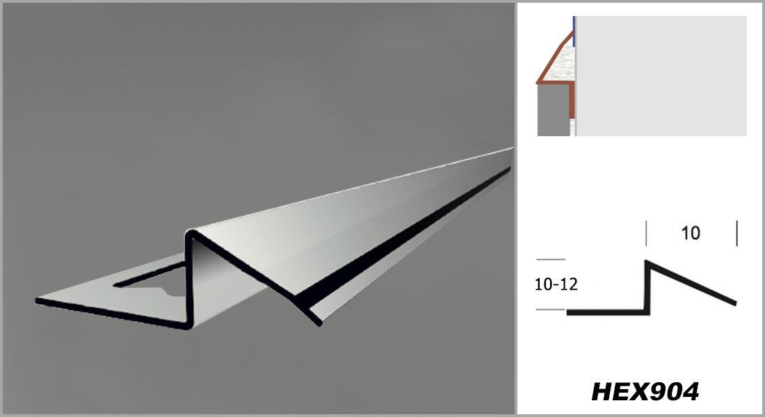 2 Meter Edelstahl Ausgleichsprofil Übergangsprofil