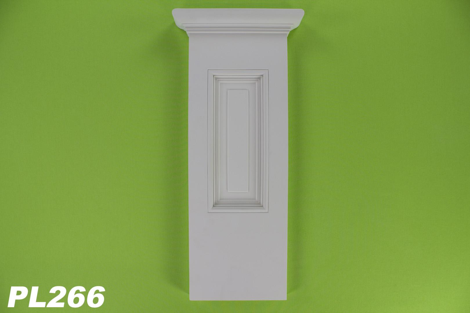 1 basisteil f r pilaster k rper pl276 innendekor stuck wand sto fest pl266. Black Bedroom Furniture Sets. Home Design Ideas