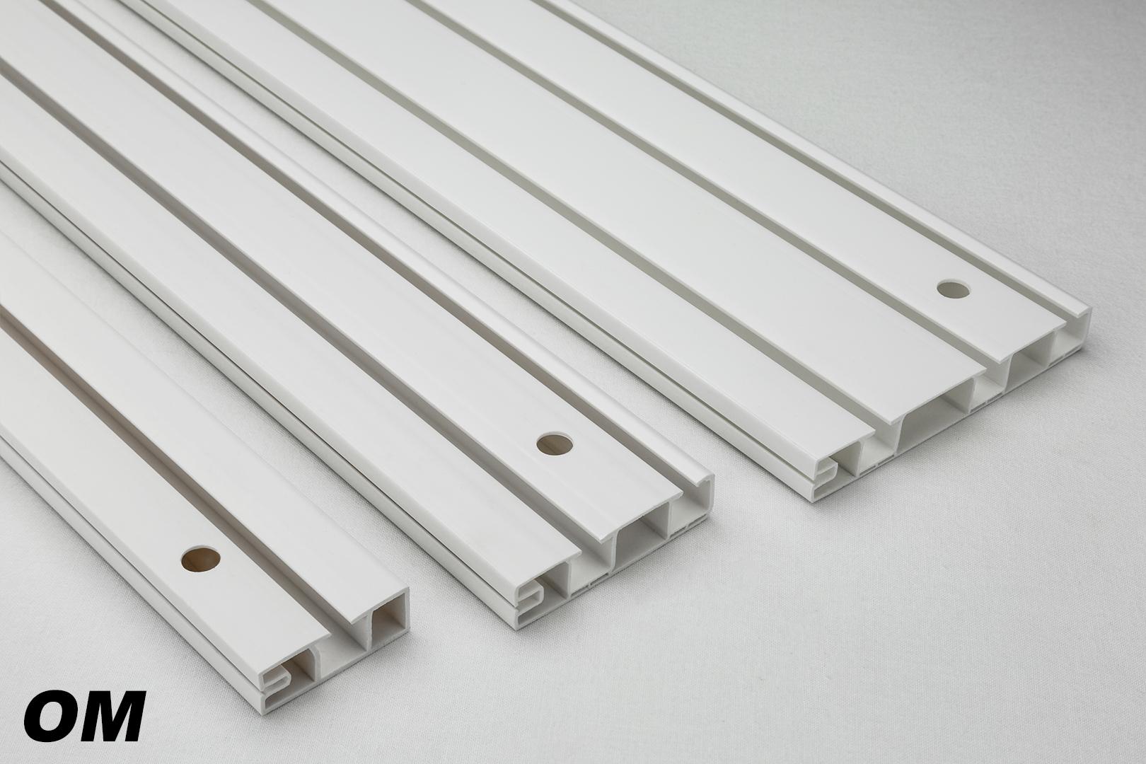Vorhangschiene Laufig Mit Blende Sm Plus Gardinenschiene Gardinenleiste Weiss