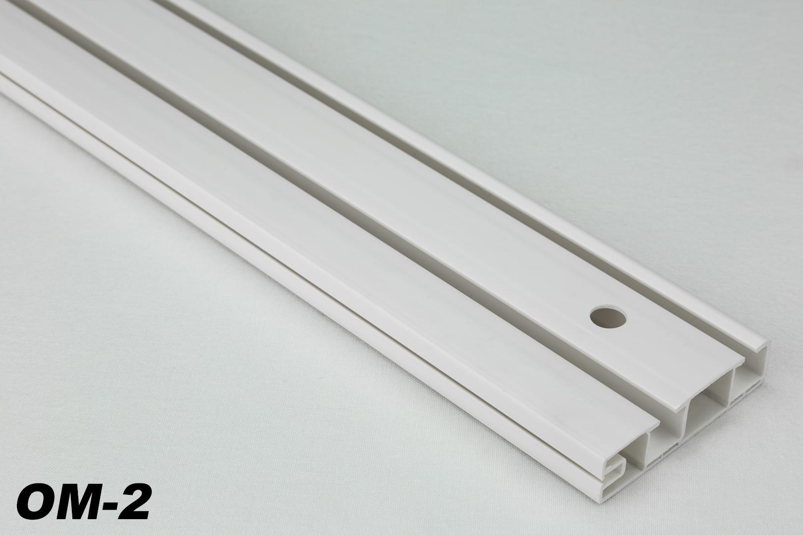 Binari Tende A Soffitto : 10 metri 2 läufige pvc binari tende tenda a pannello tavole per