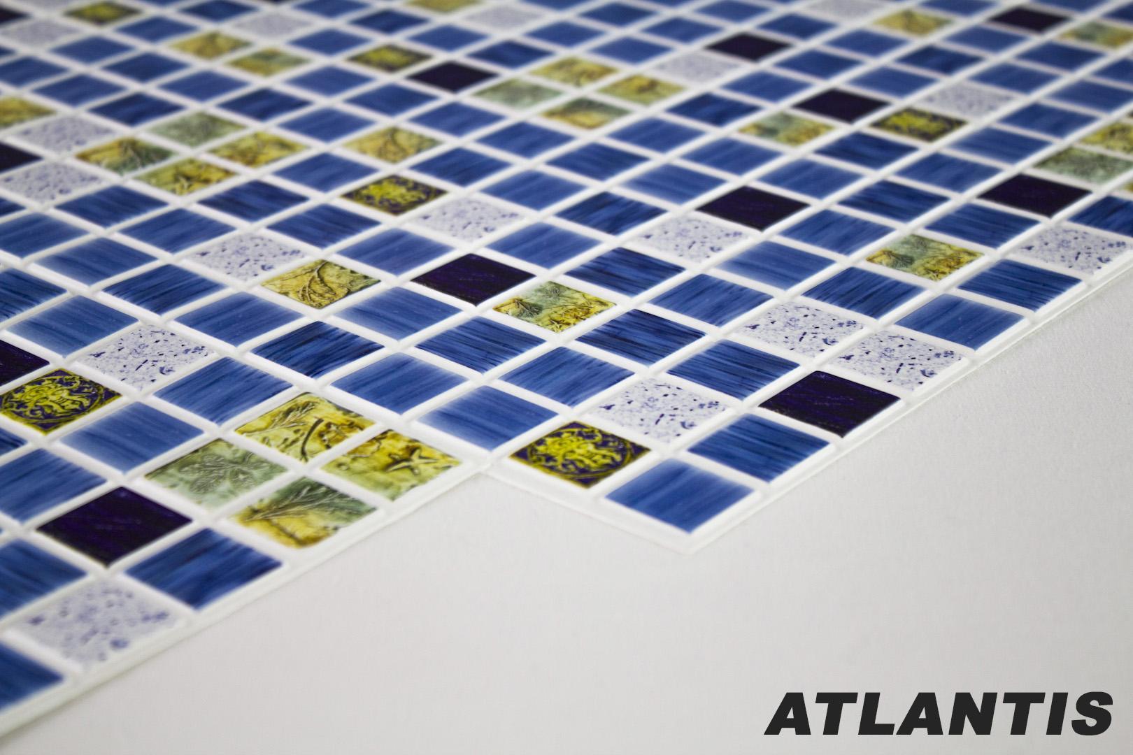 1 pvc dekorplatte mosaic wandverkleidung platten wand innen 95x48cm atlantis. Black Bedroom Furniture Sets. Home Design Ideas