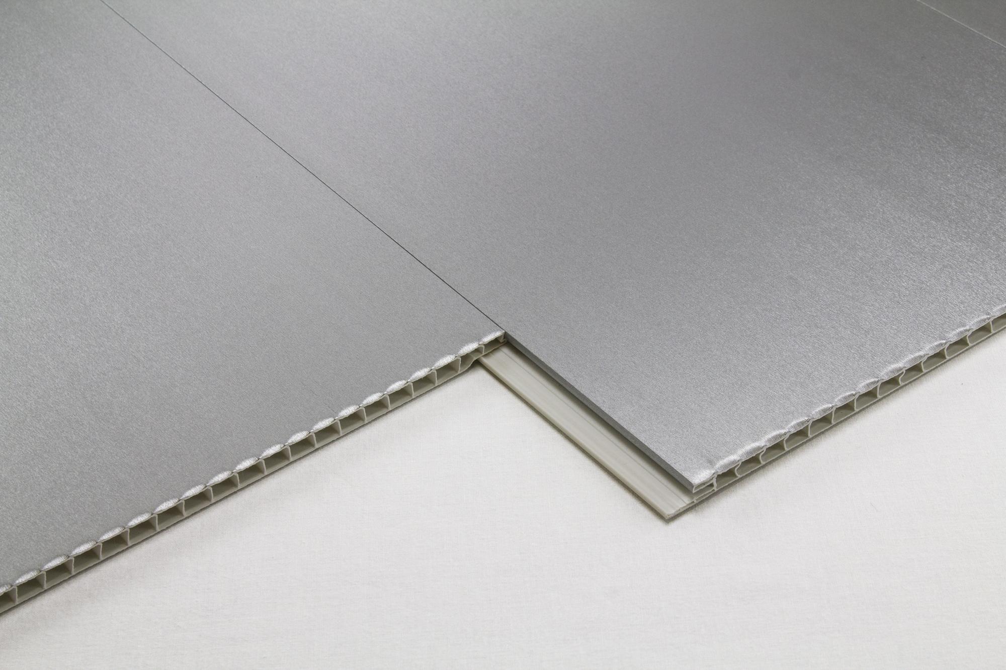 1 m2 pvc panneau plaques tanche int rieur plafond mur v tements 200x25 98 08 ebay. Black Bedroom Furniture Sets. Home Design Ideas