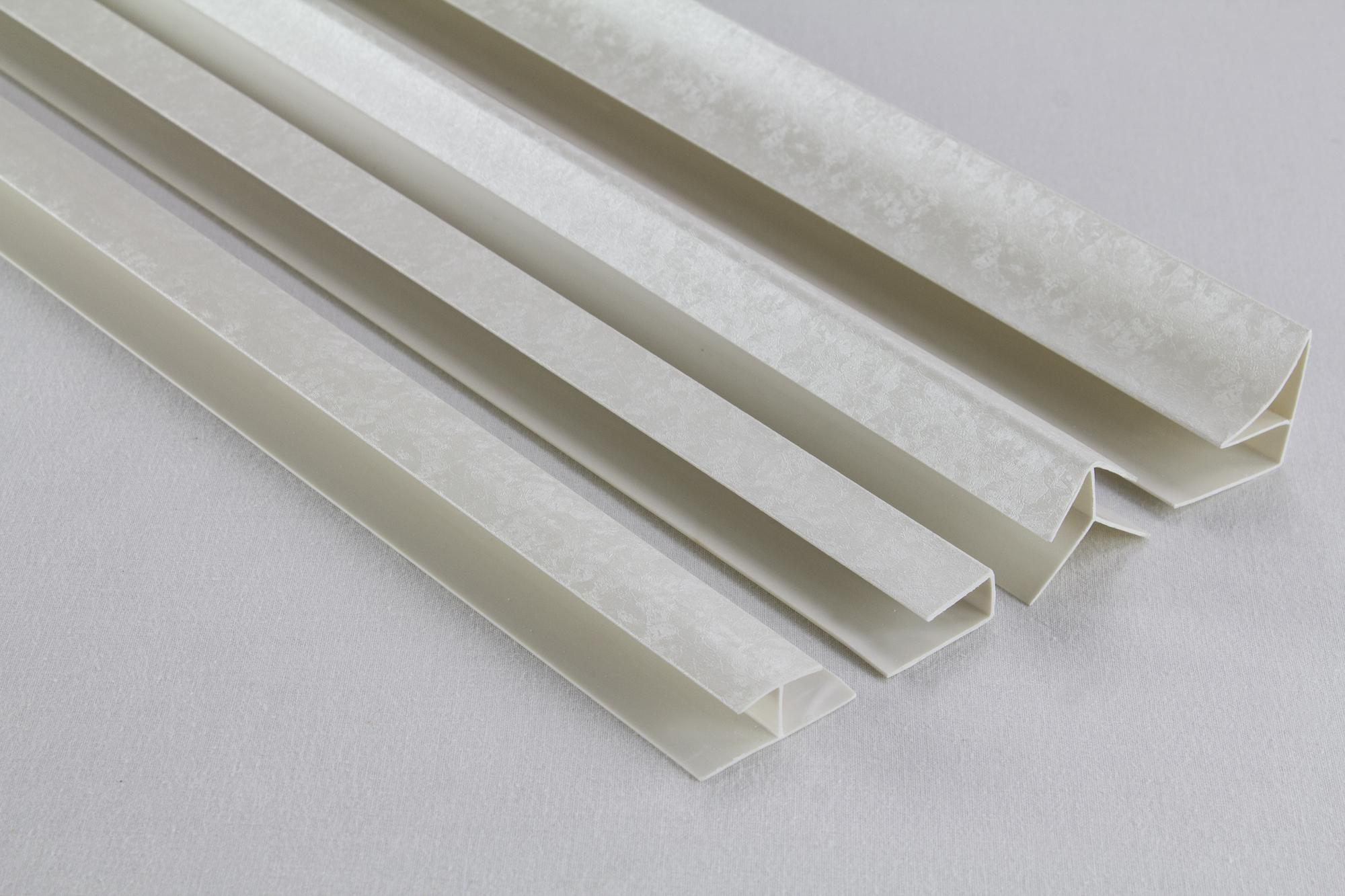 Zubeh r f r pvc paneele deckenpaneele wandpaneele innen platten 97 30 ebay - Wandpaneele kunststoff innen ...