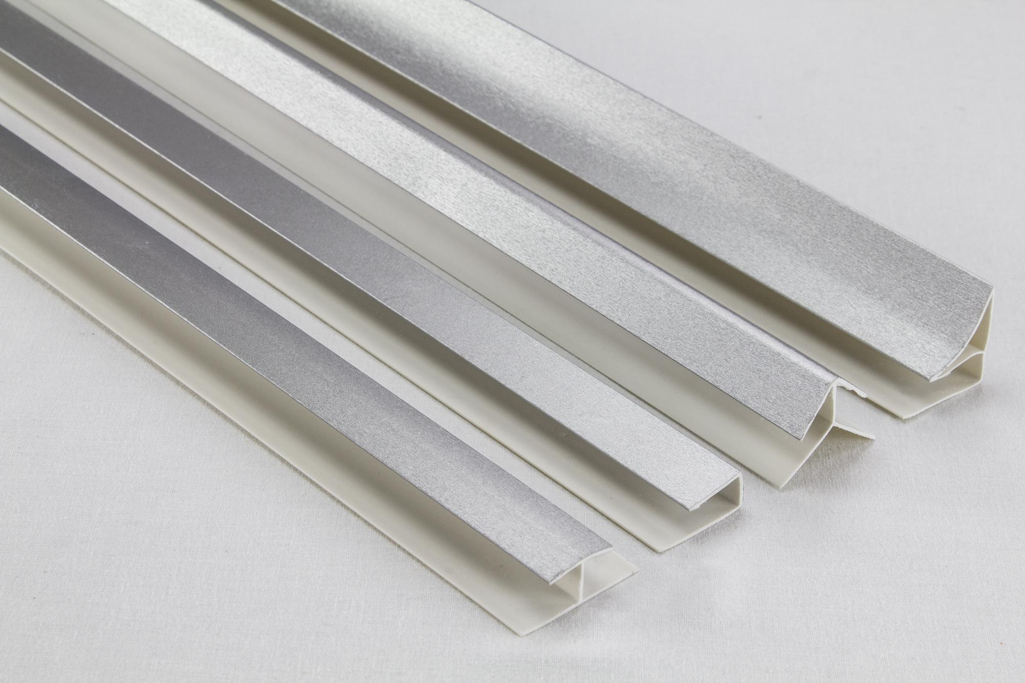 Zubeh r f r pvc paneele deckenpaneele wandpaneele innen platten 98 08 ebay - Wandpaneele kunststoff innen ...