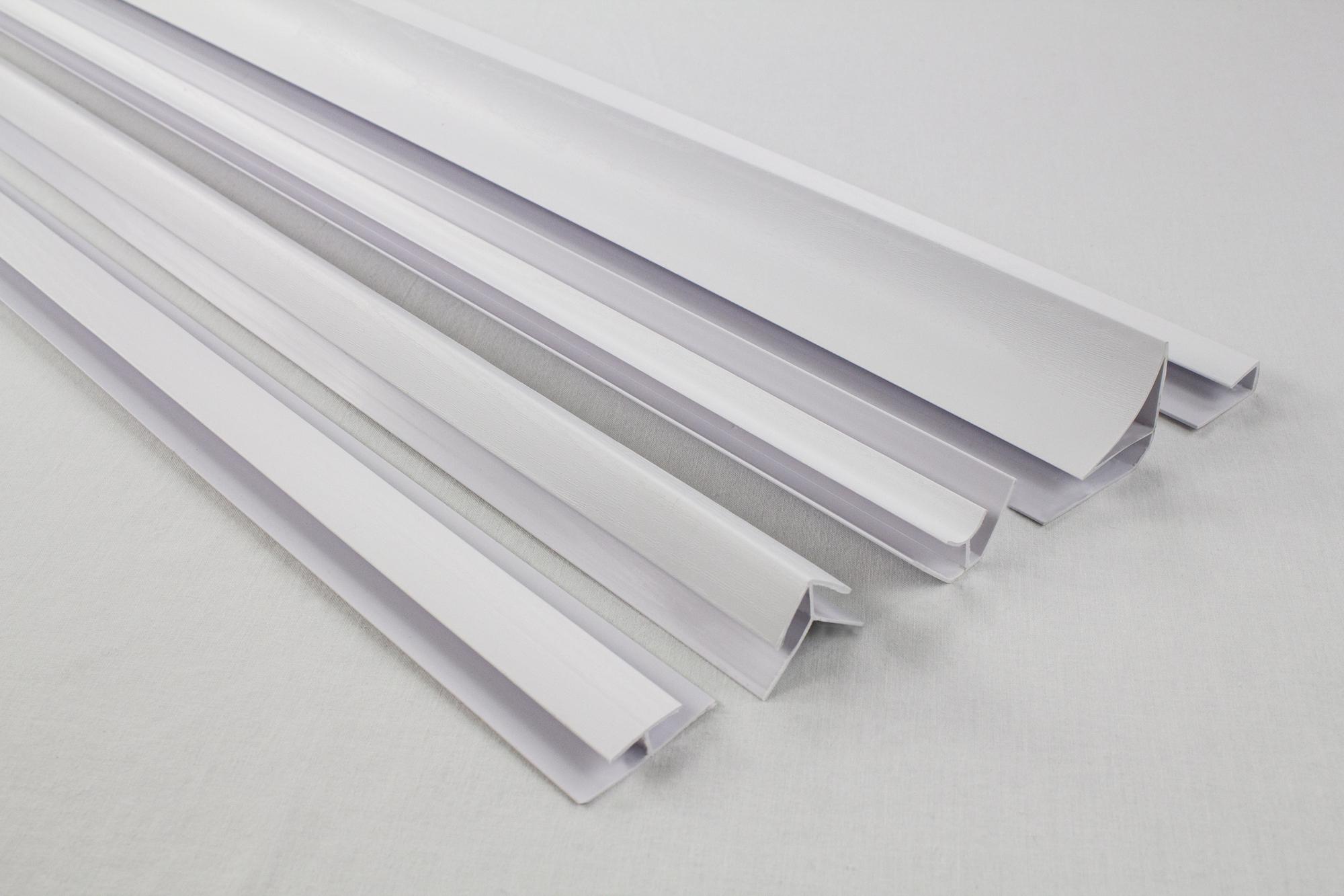 Zubeh r f r pvc paneele deckenpaneele wandpaneele innen platten s01 3 ebay - Wandpaneele kunststoff innen ...