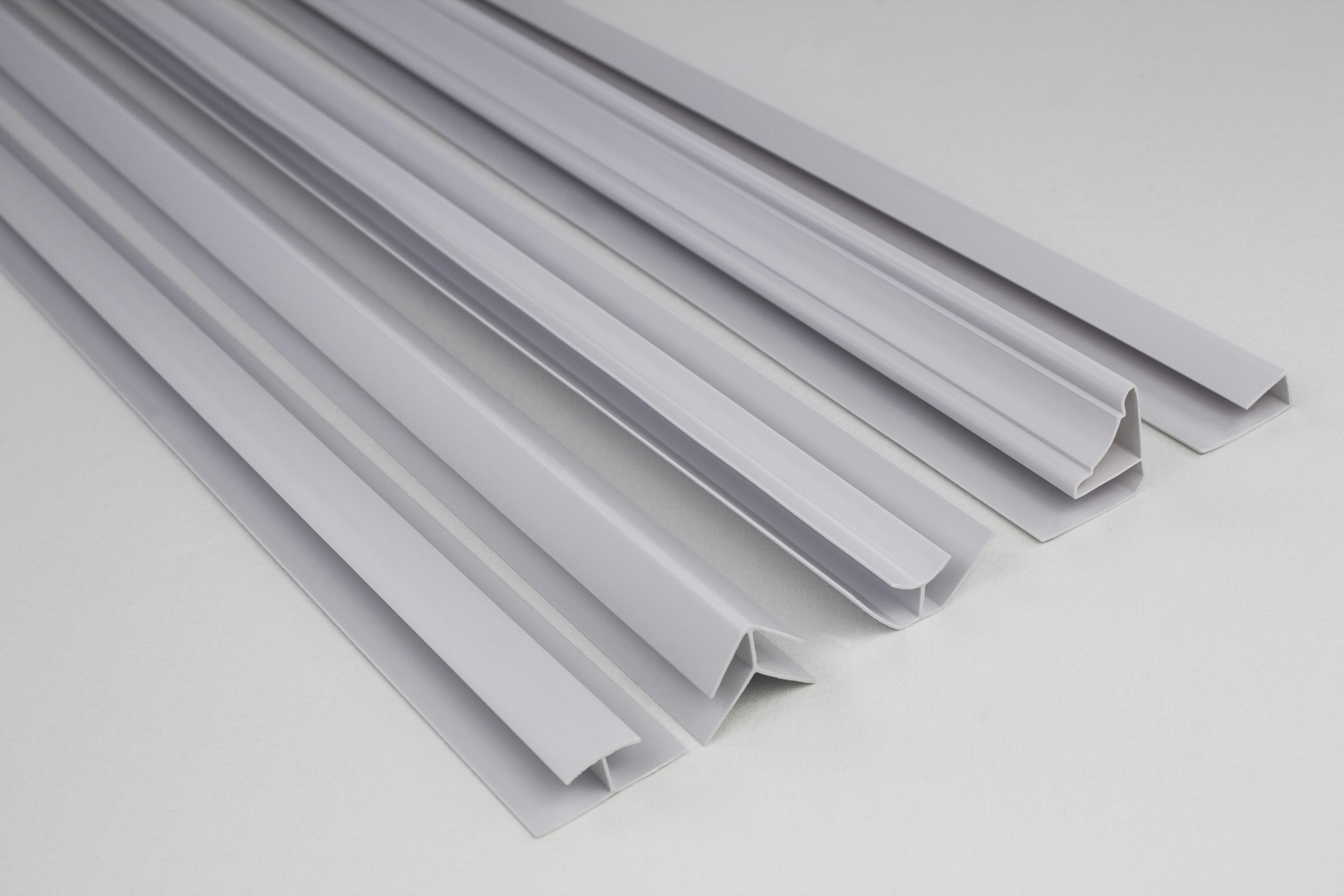 accessoires pour pvc panneau plafonds panneaux muraux g2 hw04 marbre blanc blanc ebay. Black Bedroom Furniture Sets. Home Design Ideas