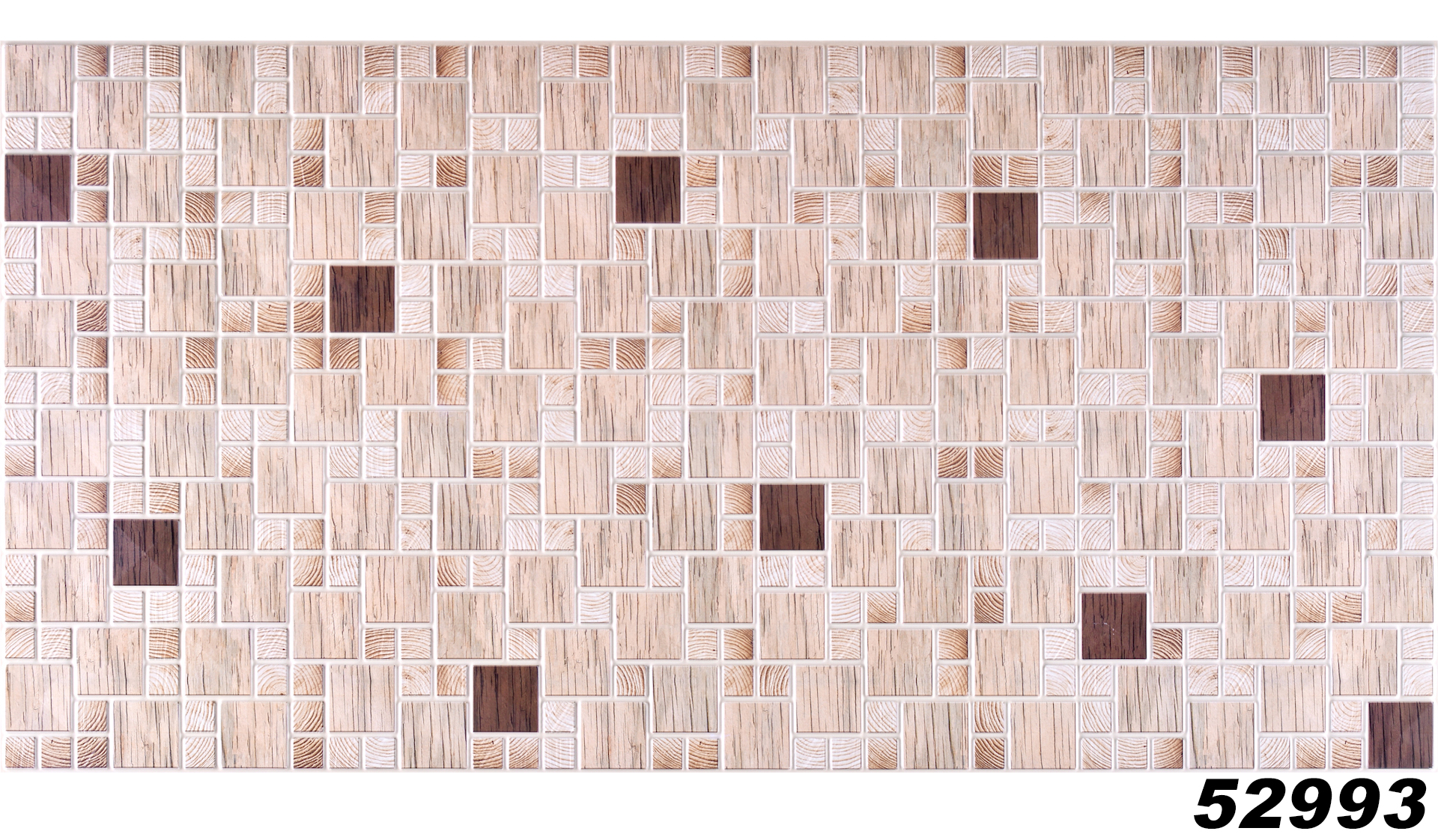 1 pvc dekorplatte mosaic wandverkleidung platten wand paneel 95x48cm 52993 ebay. Black Bedroom Furniture Sets. Home Design Ideas