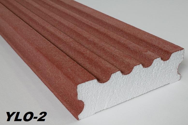 2 meter pilaster profil au en innen 195x55mm ylo 2 l hne. Black Bedroom Furniture Sets. Home Design Ideas