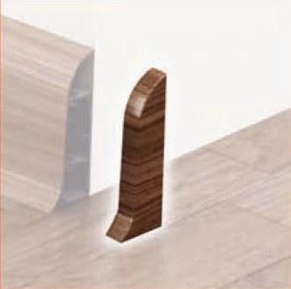 endkappen rechts f r sockelleisten leisten fu leisten li2 duo. Black Bedroom Furniture Sets. Home Design Ideas