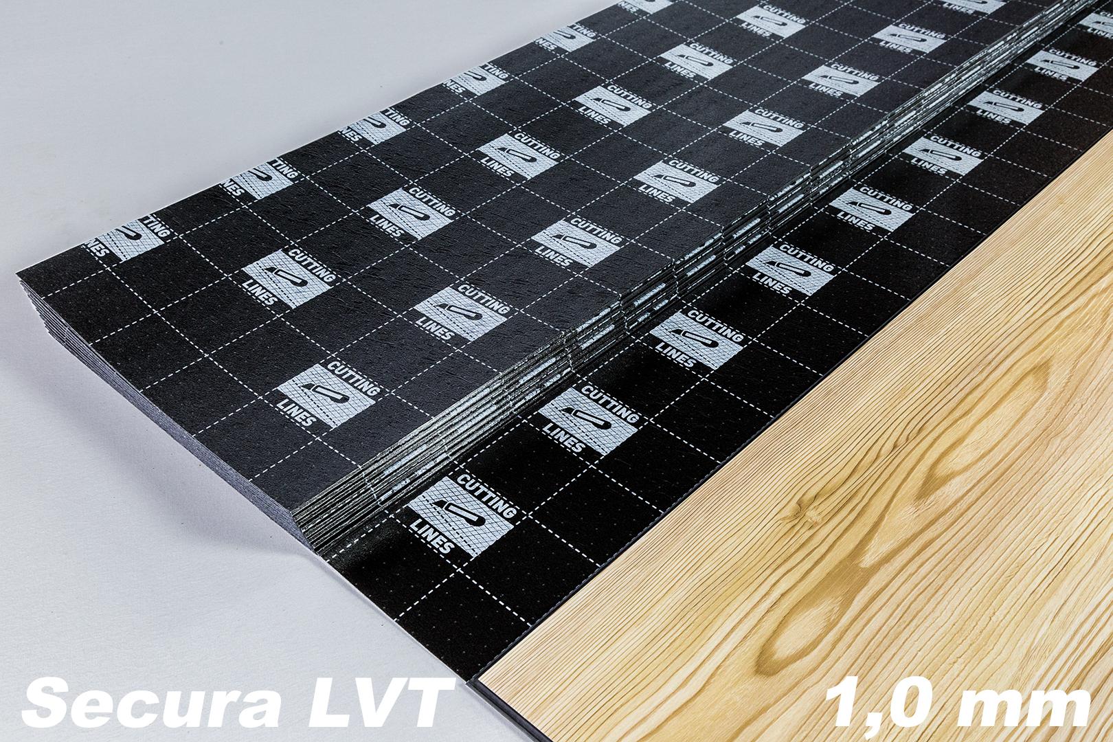 100 m trittschalld mmung f r vinylboden fu bodenheizung klick vinyl secura lvt ebay. Black Bedroom Furniture Sets. Home Design Ideas