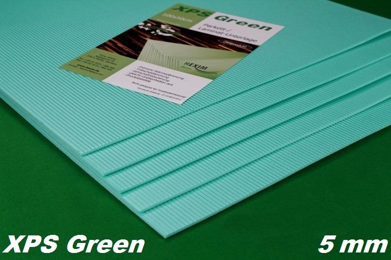 1 m2 trittschalld mmung d mmung boden f r laminat parkett 5mm xps green ebay. Black Bedroom Furniture Sets. Home Design Ideas