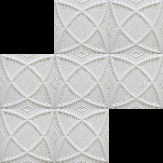 1 m2 deckenplatten styroporplatten stuck decke dekor platten 50x50cm mars dekore aus polystyrol. Black Bedroom Furniture Sets. Home Design Ideas