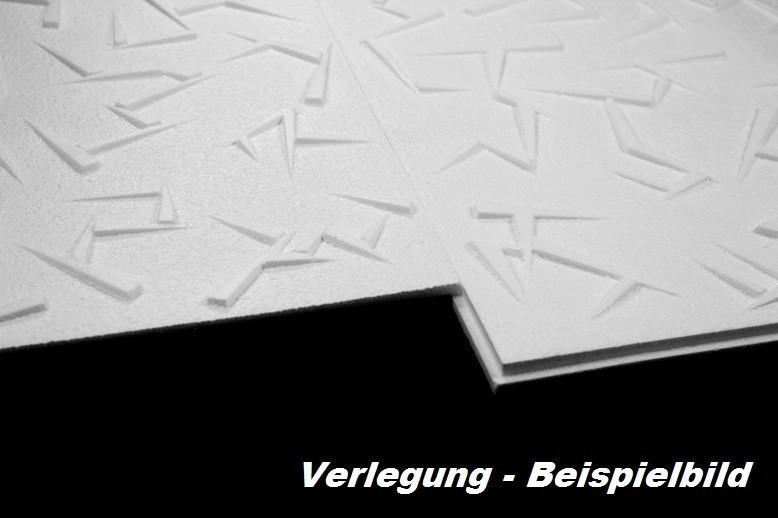 60 m2 deckenplatten styroporplatten stuck decke dekor platten 50x50cm irys sparpakete. Black Bedroom Furniture Sets. Home Design Ideas
