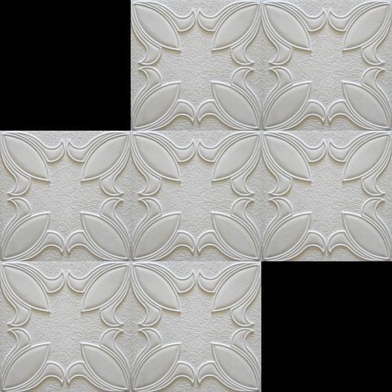 100 m2 deckenplatten styroporplatten stuck decke dekor platten 50x50cm irys sparpakete. Black Bedroom Furniture Sets. Home Design Ideas