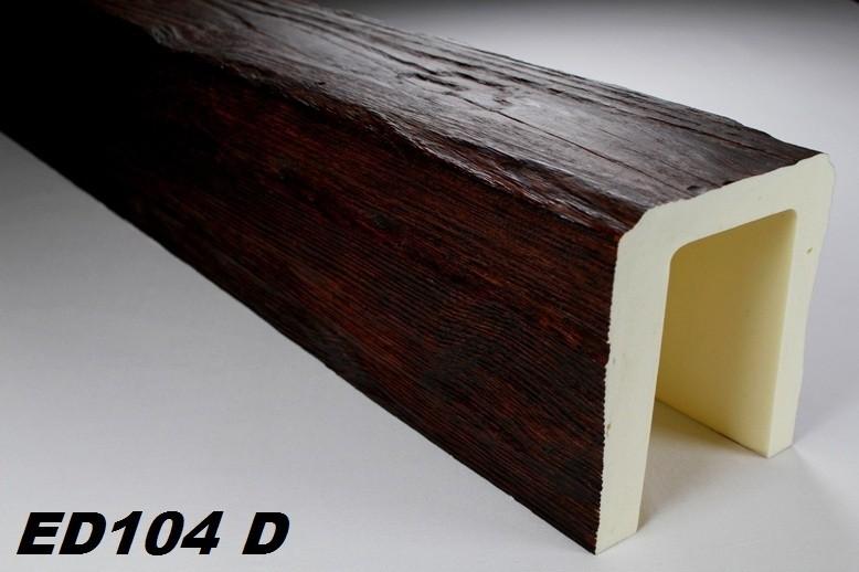 2 meter deckenbalken balken holzimitat 190x170mm ed104 d serie modern dekore aus polyurethane. Black Bedroom Furniture Sets. Home Design Ideas