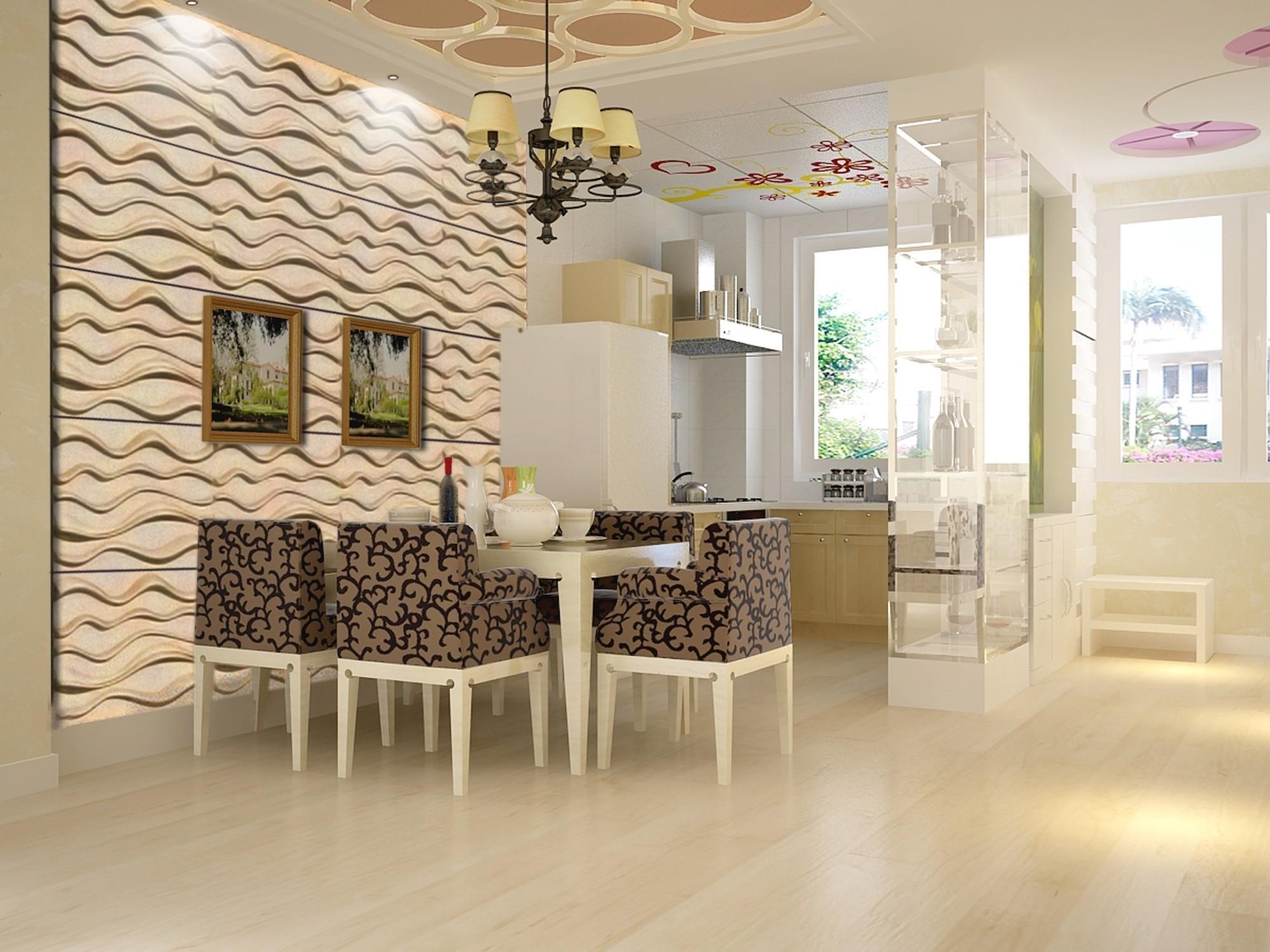 15 m2 paneele 3d platten wandverkleidung wanddekor. Black Bedroom Furniture Sets. Home Design Ideas