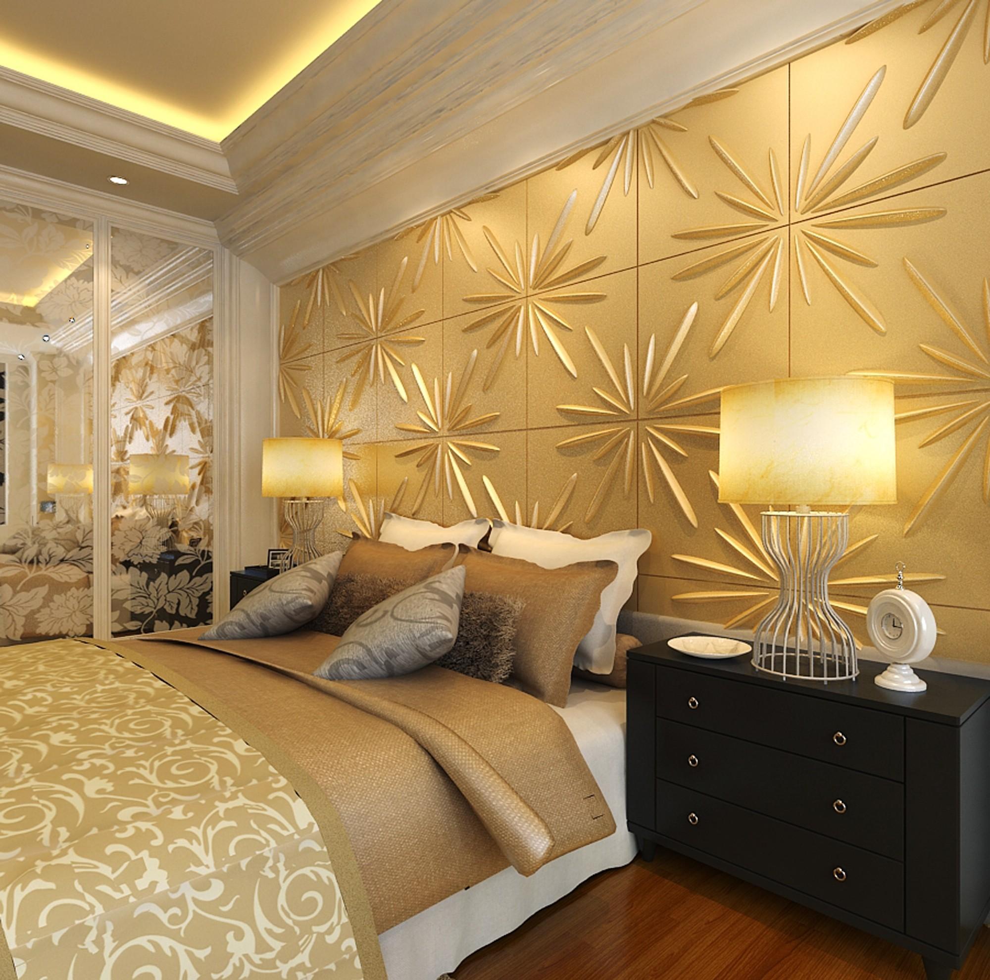 1 m2 paneele 3d platten 3d wanddekor wandverkleidung decke wand 50x50cm elijah dekore aus - Testata letto matrimoniale shabby ...