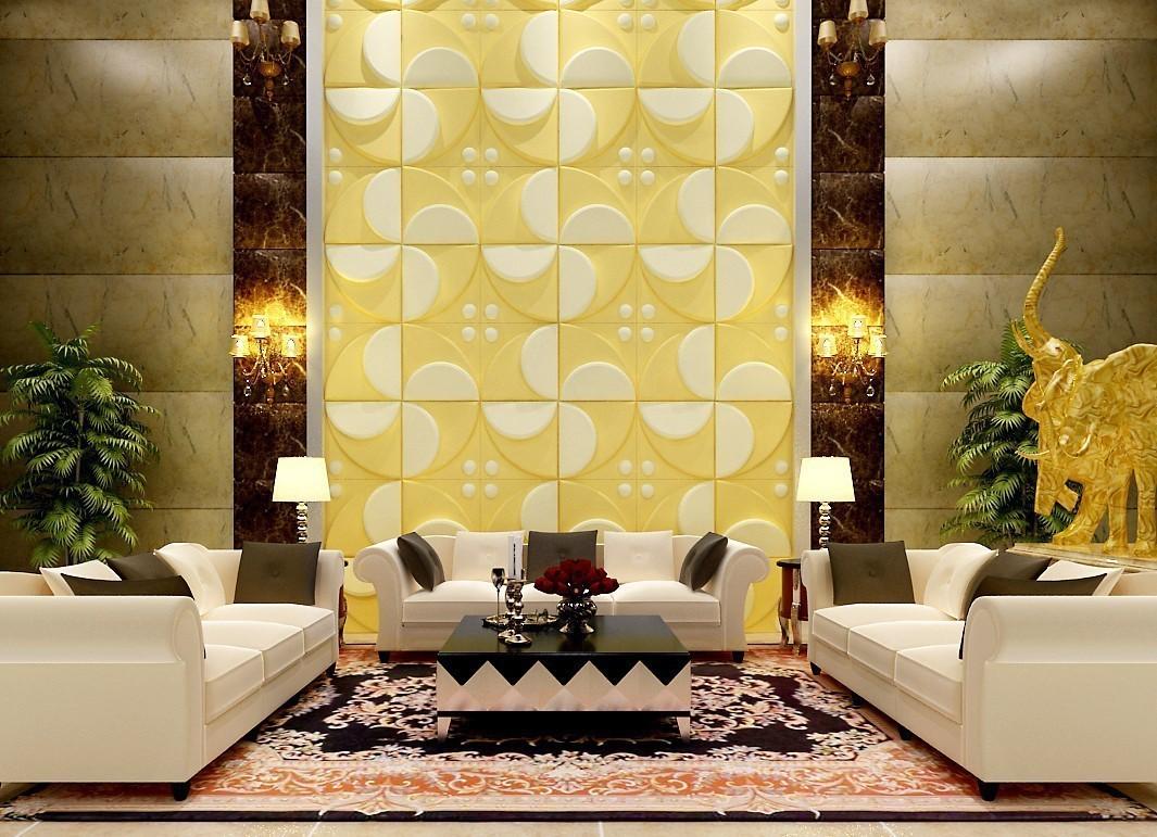 25 m2 paneele 3d platten wanddekor 3d wandpaneele deckenplatten 50x50cm flora sparpakete 3d. Black Bedroom Furniture Sets. Home Design Ideas