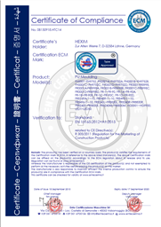 CE Zertifikat Hexim PU
