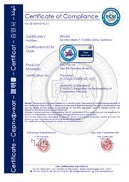 CE Zertifikat Hexim PVC