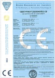 CE Zertifikat Sockelleisten Modern
